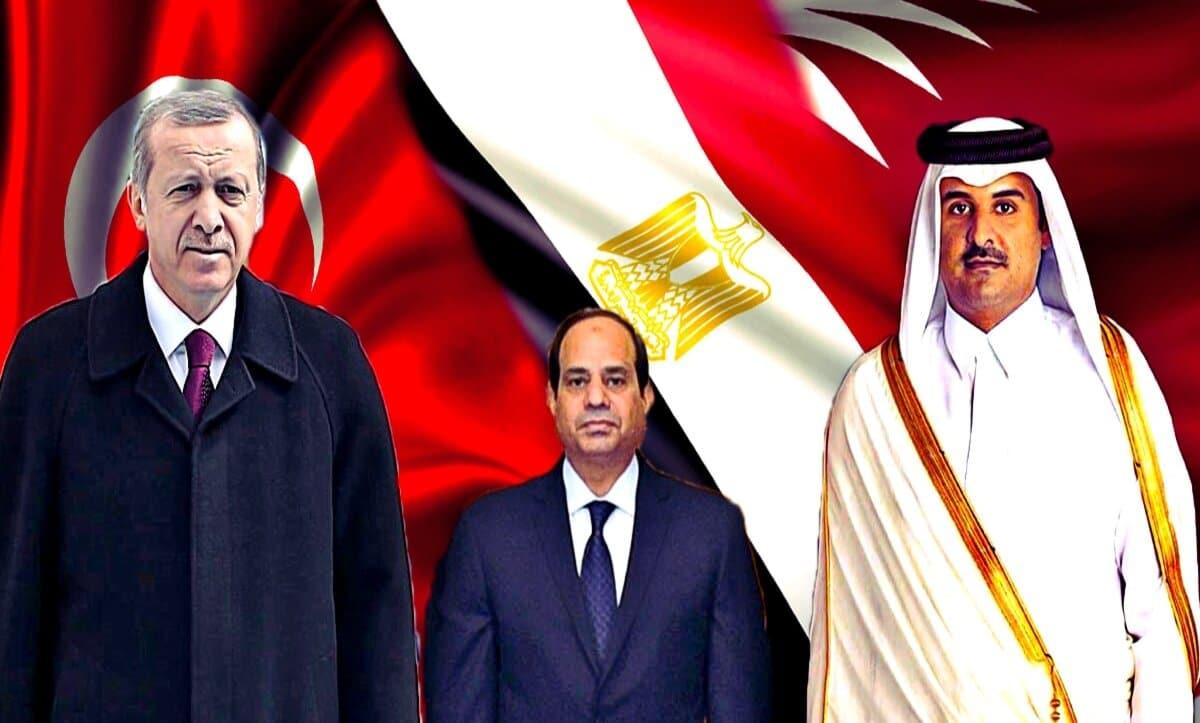 بيان مرتقب يصدر من القاهرة لإعلان إنهاء الخلاف مع الدوحة وأنقرة ووفد قطري في مصر لوضع اللمسات الأخيرة