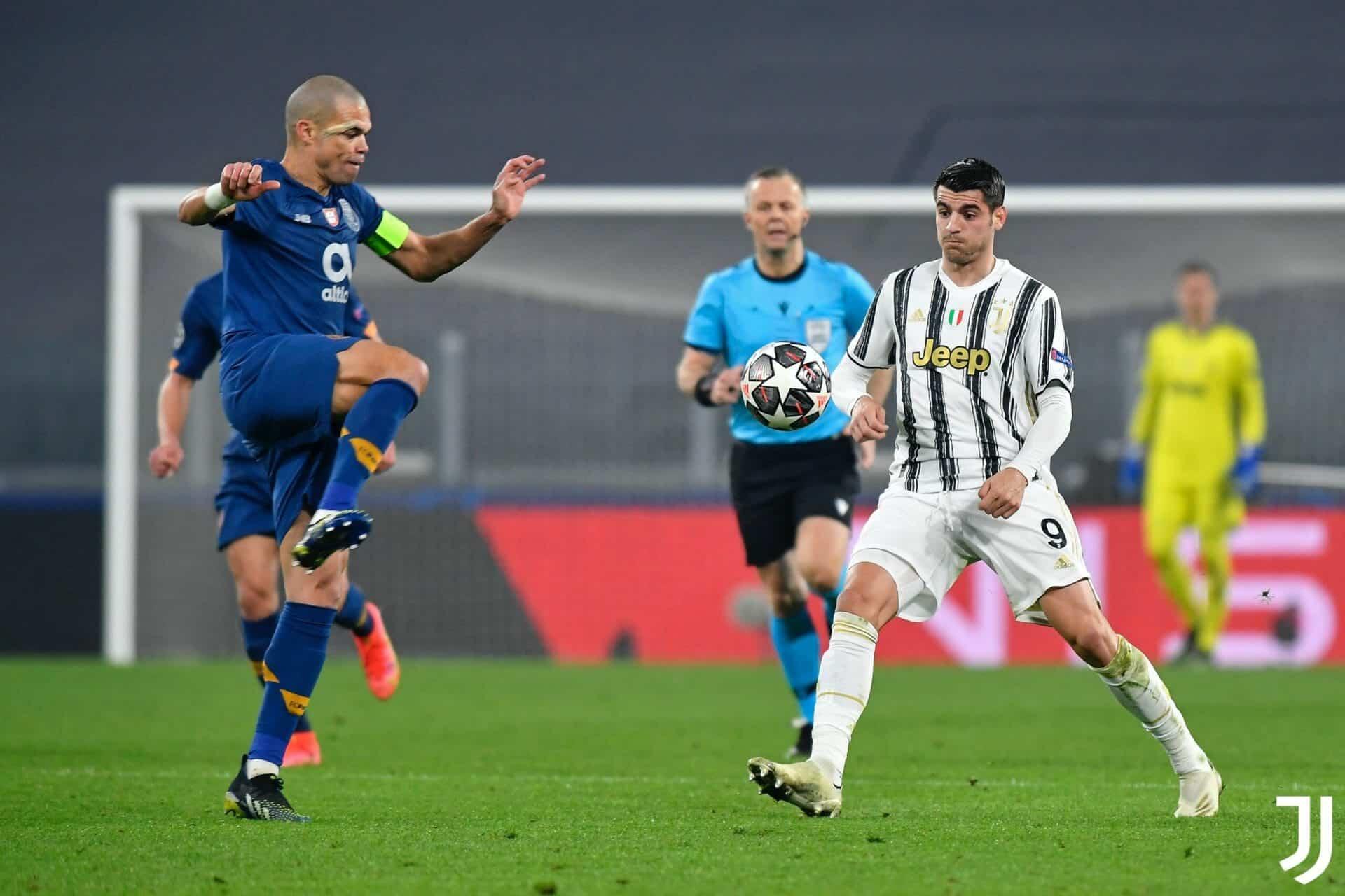 يوفنتوس يودع دوري أبطال أوروبا أمام بورتو على ميدانه