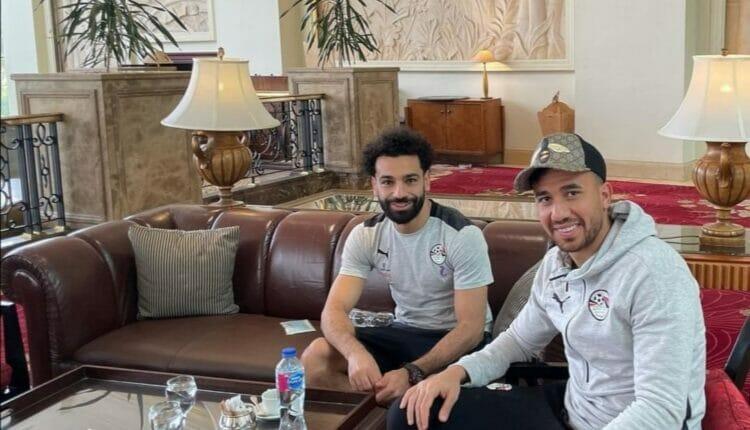مواقف طريفة وصور بين محمد صلاح و تريزيغيه