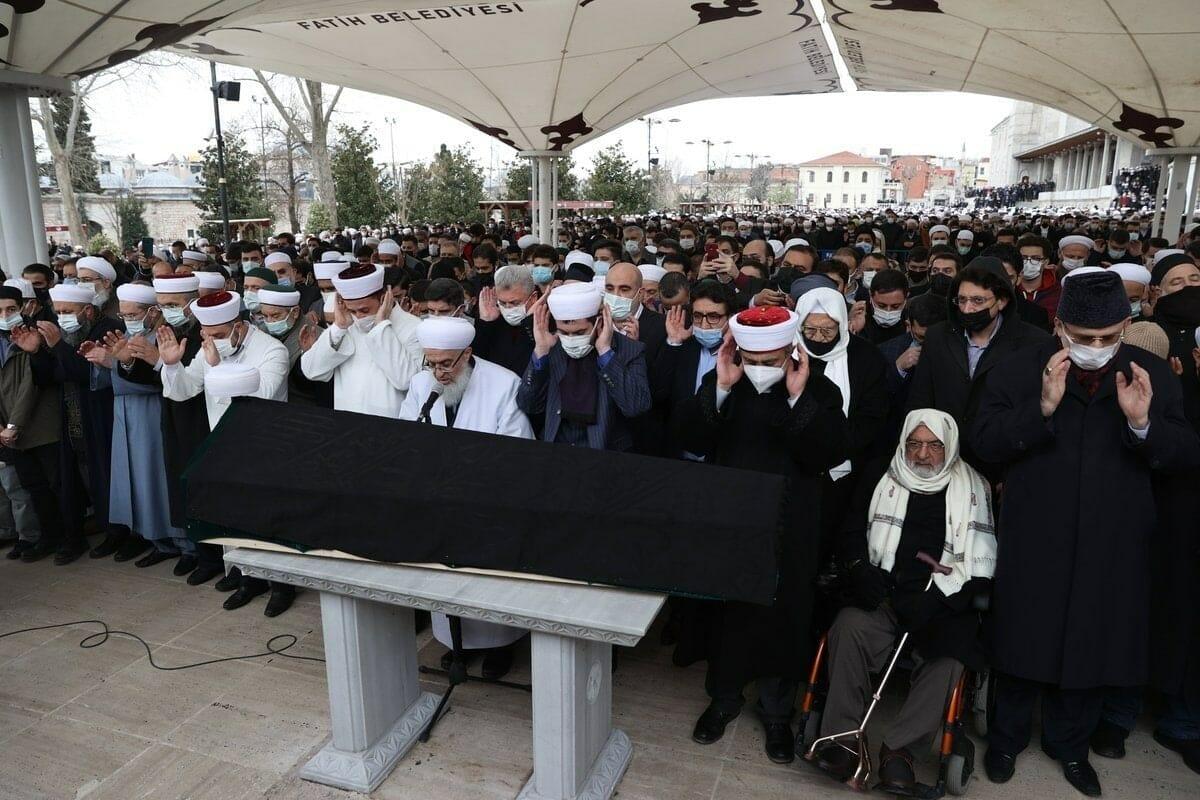جنازة محمد علي الصابوني