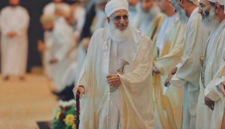 مفتي سلطنة عمان الشيخ أحمد الخليلي