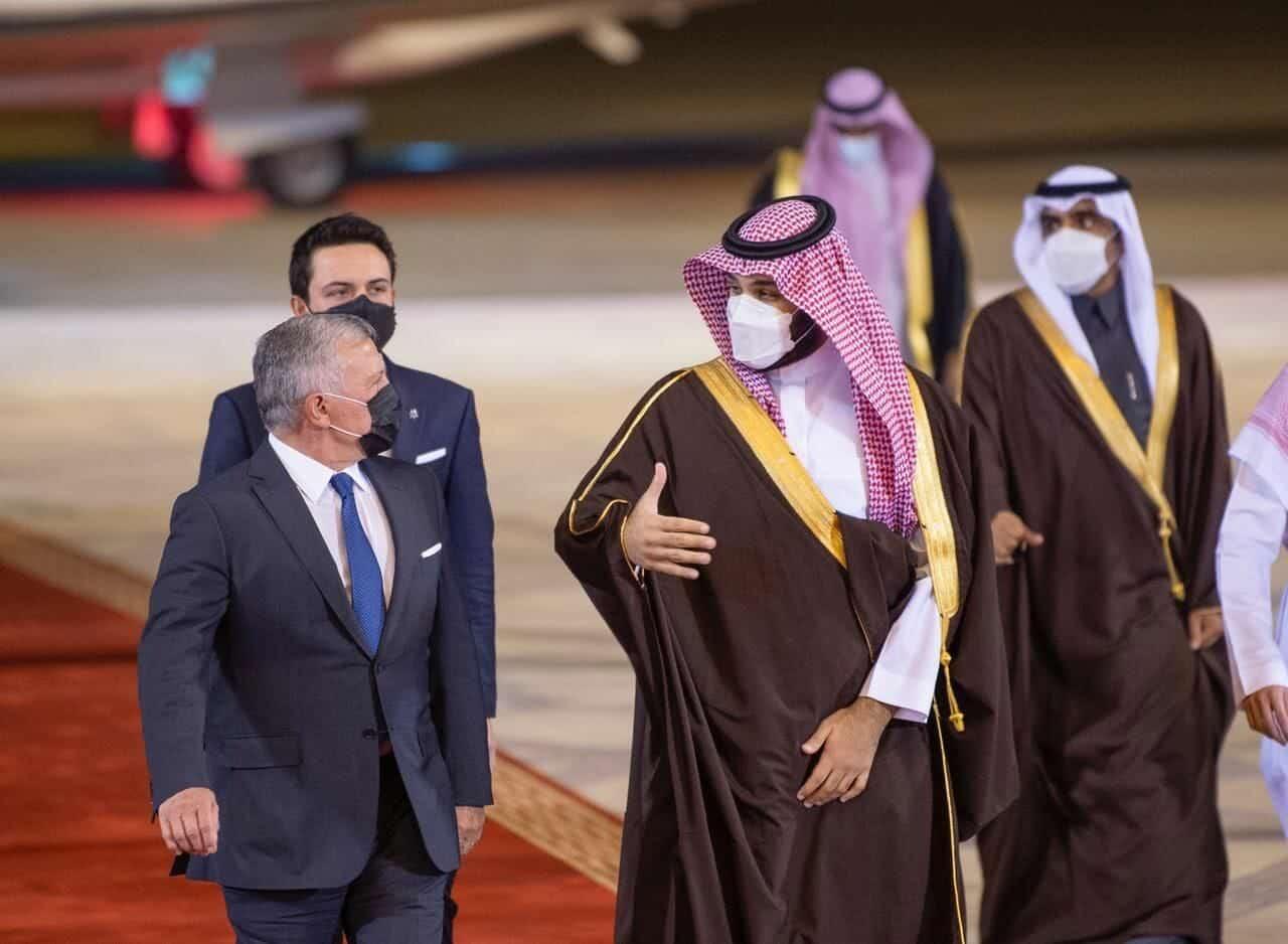 الهدف الخفي من وراء لقاء محمد بن سلمان ملك الأردن بالرياض.. ما علاقة ملف خاشقجي؟