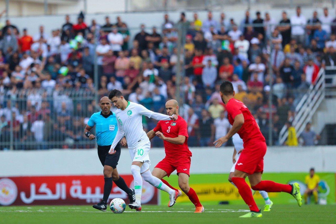 موعد مباراة السعودية وفلسطين اليوم والقنوات الناقلة في تصفيات قارة آسيا