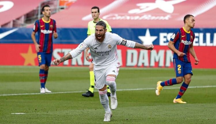الكلاسيكو بين ريال مدريد وبرشلونة