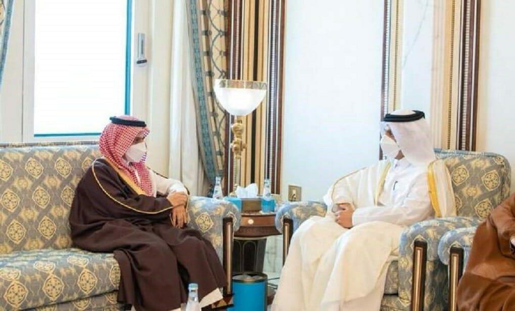 وزير خارجية قطر يكشف ما دار بينه وبين نظيره السعودي في اتصال هاتفي