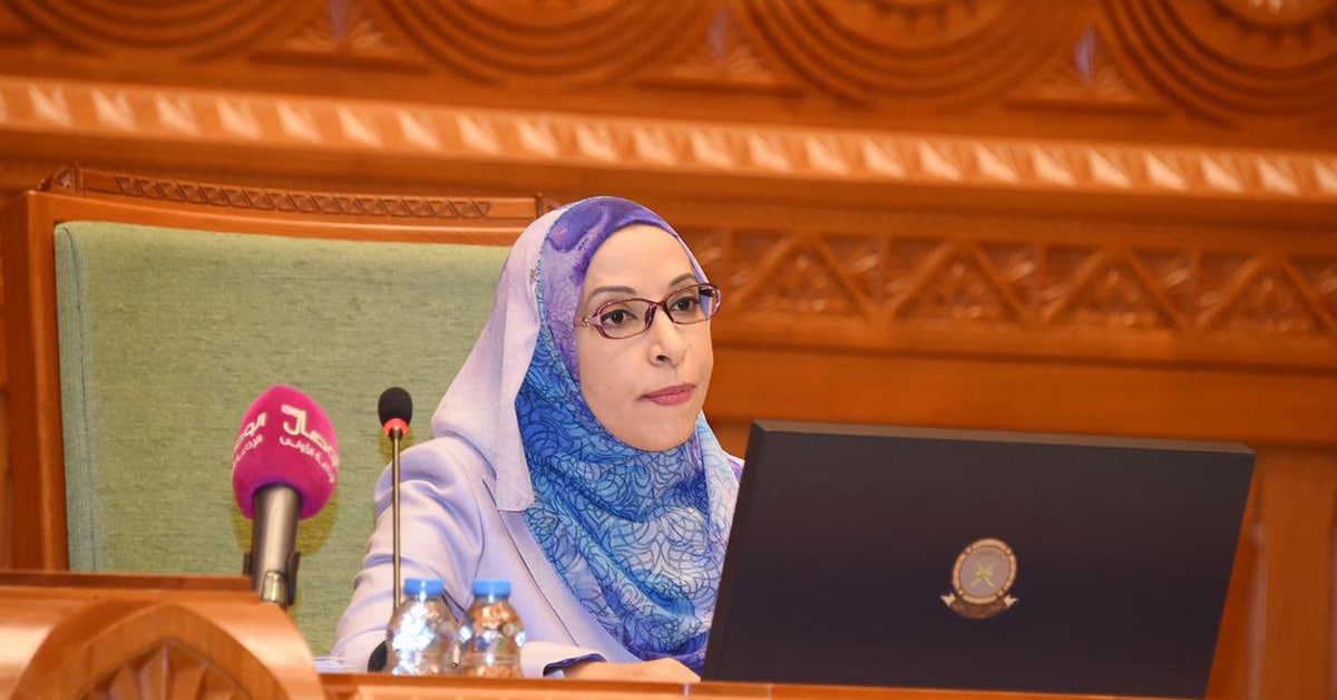 وزيرة التربية والتعليم في سلطنة عمان مديحة الشيبانية