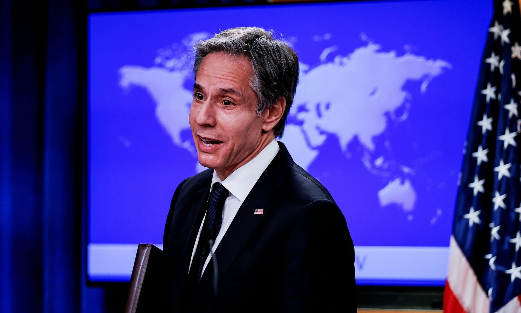 وزير الخارجية الامريكي يطمئن قادة الشرق الاوسط من بايدن