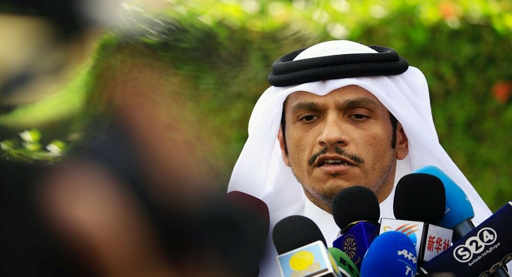 وزير الخارجية القطري يصل القاهرة في أول زيارة منذ 2017