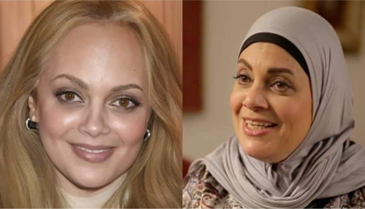 عفاف رشاد تثير ضجة بصورتها في سن الـ64 بشكل جديد تبدو فيه بصورة مغايرة عما عرفها الناس