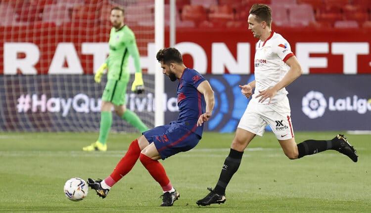مباراة إشبيلية وأتلتيكو مدريد