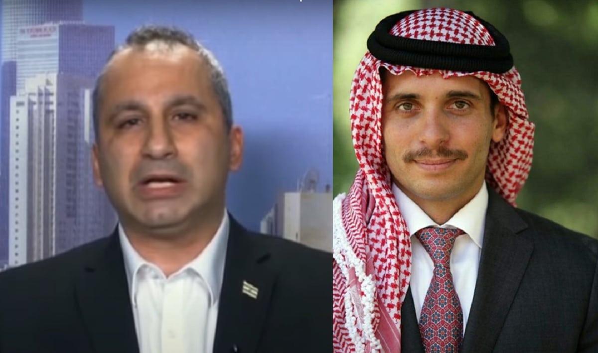 """إيدي كوهين نشر قبل يومين من أحداث الأردن هذه التغريدة """"المثيرة"""" عن مخطط الأمير حمزة للإنقلاب!"""