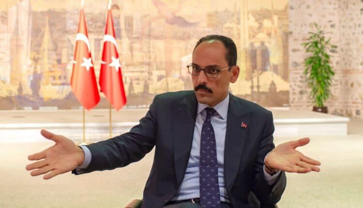 مستشار الرئيس التركي رجب طيب أردوغان والمتحدث باسم الرئاسة التركية
