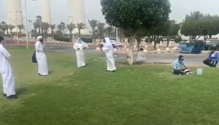 اعتصام ابراج الكويت