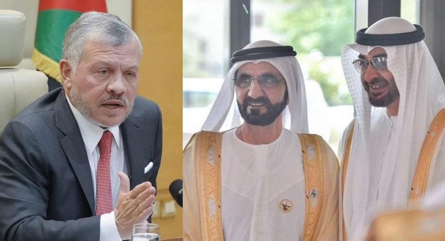 محمد بن راشد يوجه رسالة للملك عبدالله بعدما تآمر على الأردن انتقاماً من الأميرة هيا