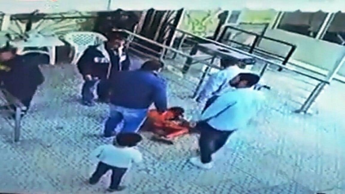 سحله وداس على رأسه .. موظف أمن في نادي طنطا يعتدي على طفل بوحشية!