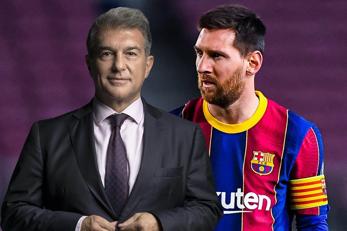 """ميسي يترك المال من أجل برشلونة .. الكشف عن تفاصيل اجتماع والد """"البرغوث"""" مع  لابورتا"""