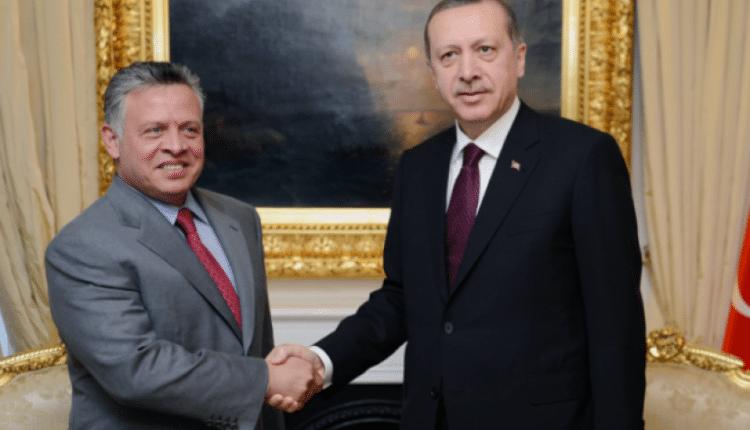 الرئيس التركي وملك الأردن