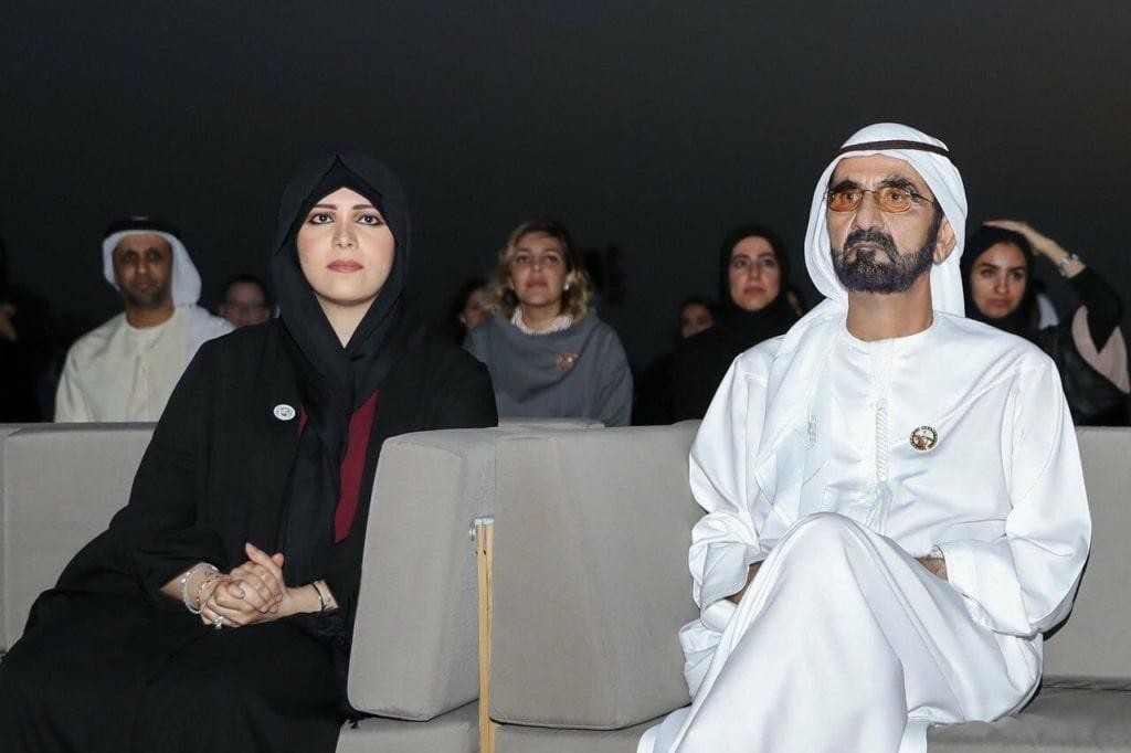 الشيخة لطيفة ابنة حاكم دبي الشيخ محمد بن راشد آل مكتوم