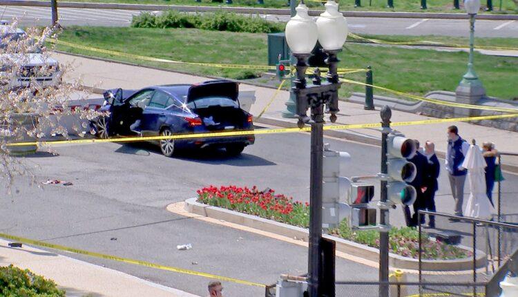 إصابة شرطيين اثنين واعتقال مشتبه به بعد محاولة سيارة اقتحام حاجز أمني بمحيط الكونغرس