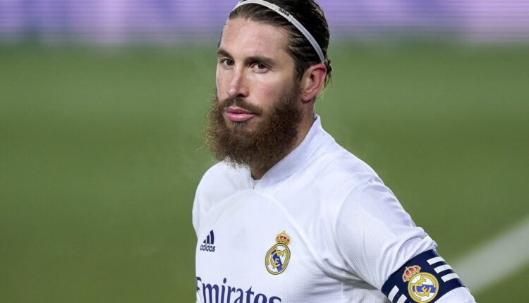 مدافع فريق ريال مدريد سيرجيو راموس