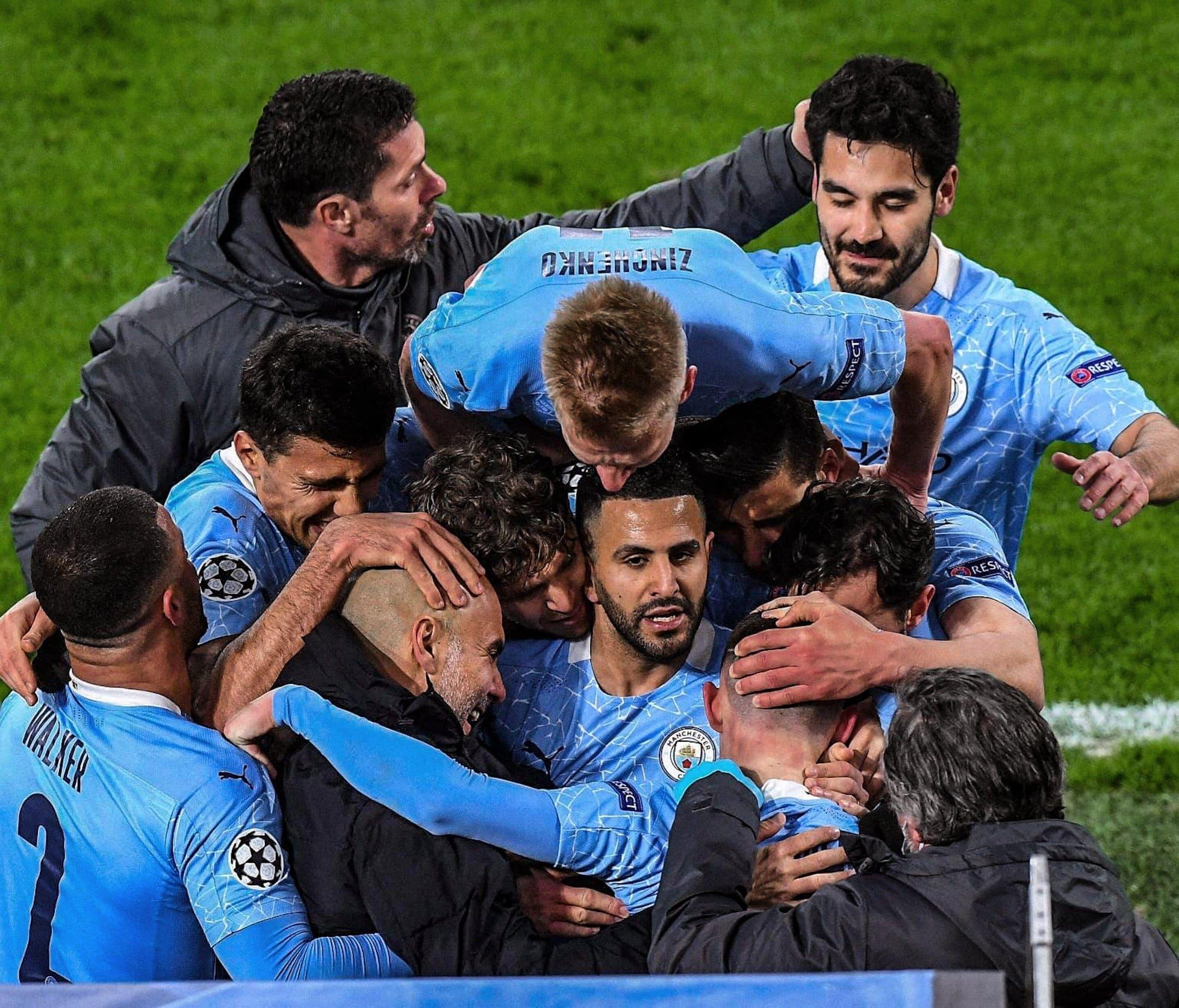 """""""شاهد"""" المان سيتي يحقق الفوز على دورتموند وينجح في التأهل إلى النصف النهائي"""