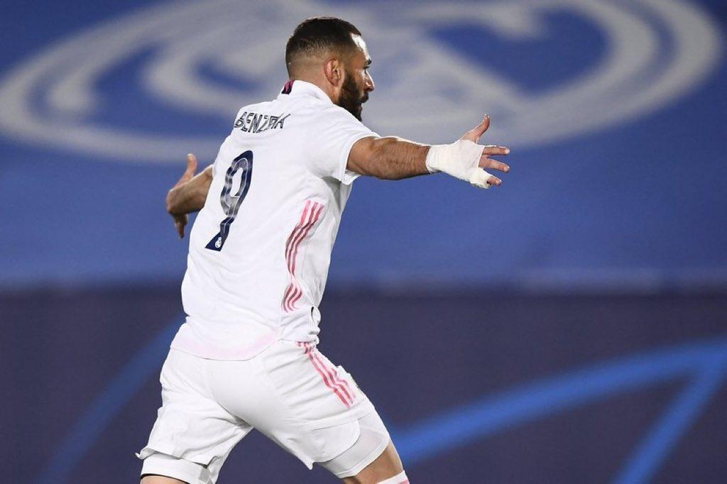 بنزيما يصنع التاريخ مع ريال مدريد بمعادلة رقم الأسطورة راؤول والتفوق على رونالدو