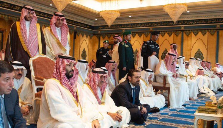 باسم عوض الله ومحمد بن سلمان
