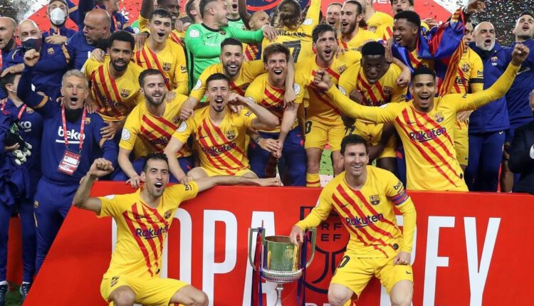 الاحتفال بكأس ملك إسبانيا