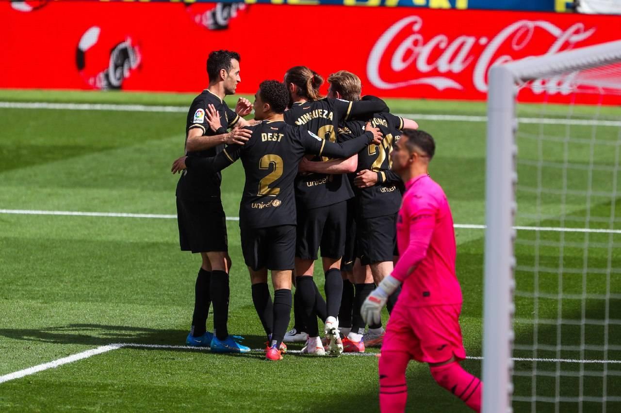 """غريزمان يقود برشلونة إلى وصافة ترتيب """"الليغا"""" بعد الفوز على فياريال"""