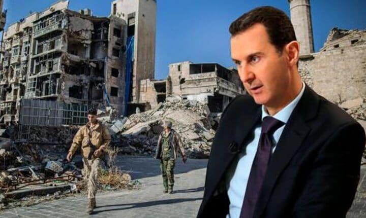 بشار الأسد يترشح على جماجم مواطنيه