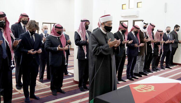 تشييع جثمان الأمير محمد بن طلال