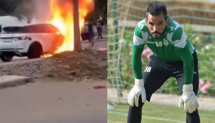 حارس الرجاء المغربي بوعميرة الحادث المروع