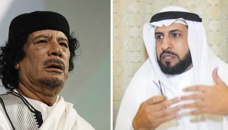 حاكم المطيري ومعمر القذافي
