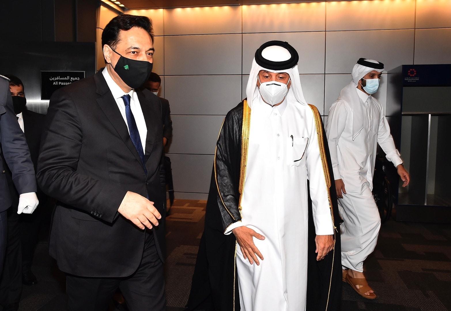 حسان دياب في قطر