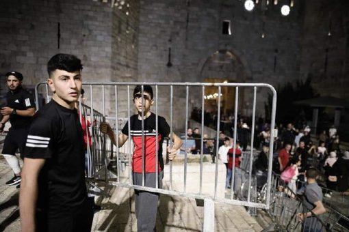 حواجز الاحتلال في باب العامود
