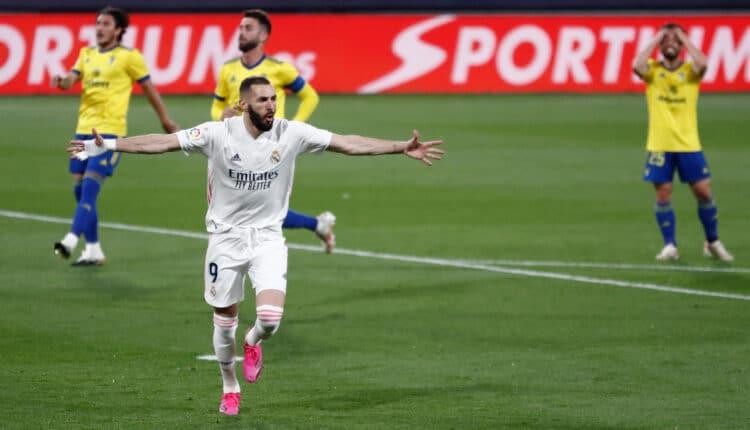 مباراة ريال مدريد وقادش