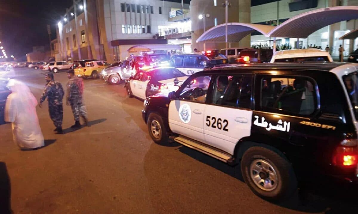 شرطة الكويت- خيطان