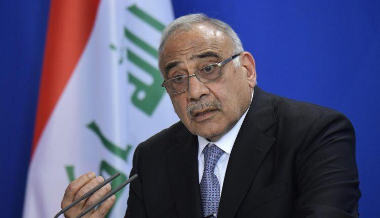 رئيس وزراء العراق الاسبق عادل عبدالمهدي