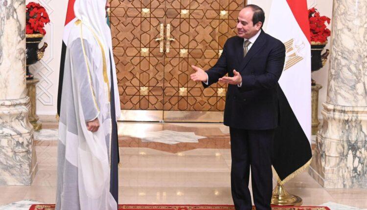 الإمارات تقدم نصف مليار دولار لغزة باسم السيسي