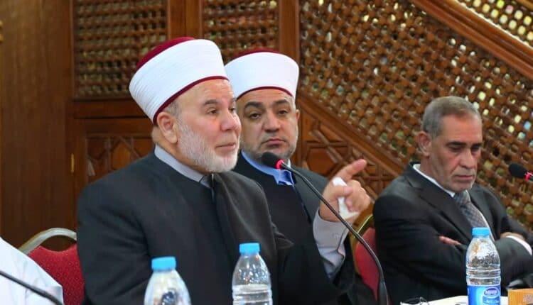 مفتي الأردن عبدالكريم الخصاونة
