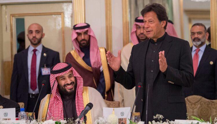 عمران خان باكستان ومحمد بن سلمان