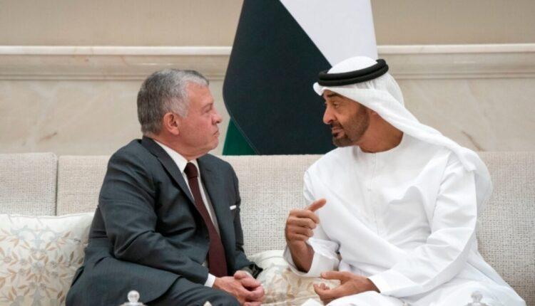 محمد بن زايد والملك عبدالله الثاني