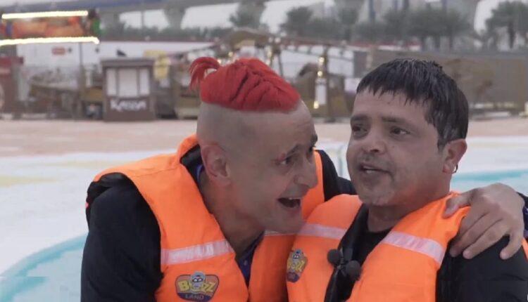 محمد هنيدي وقع في فخ رامز جلال ببرنامج رامز عقله طار