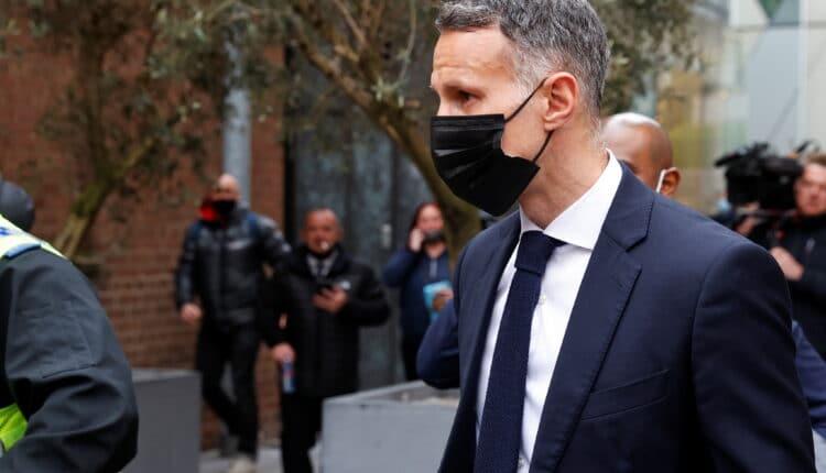 رايان غيغز والمثول أمام محكمة مانشستر