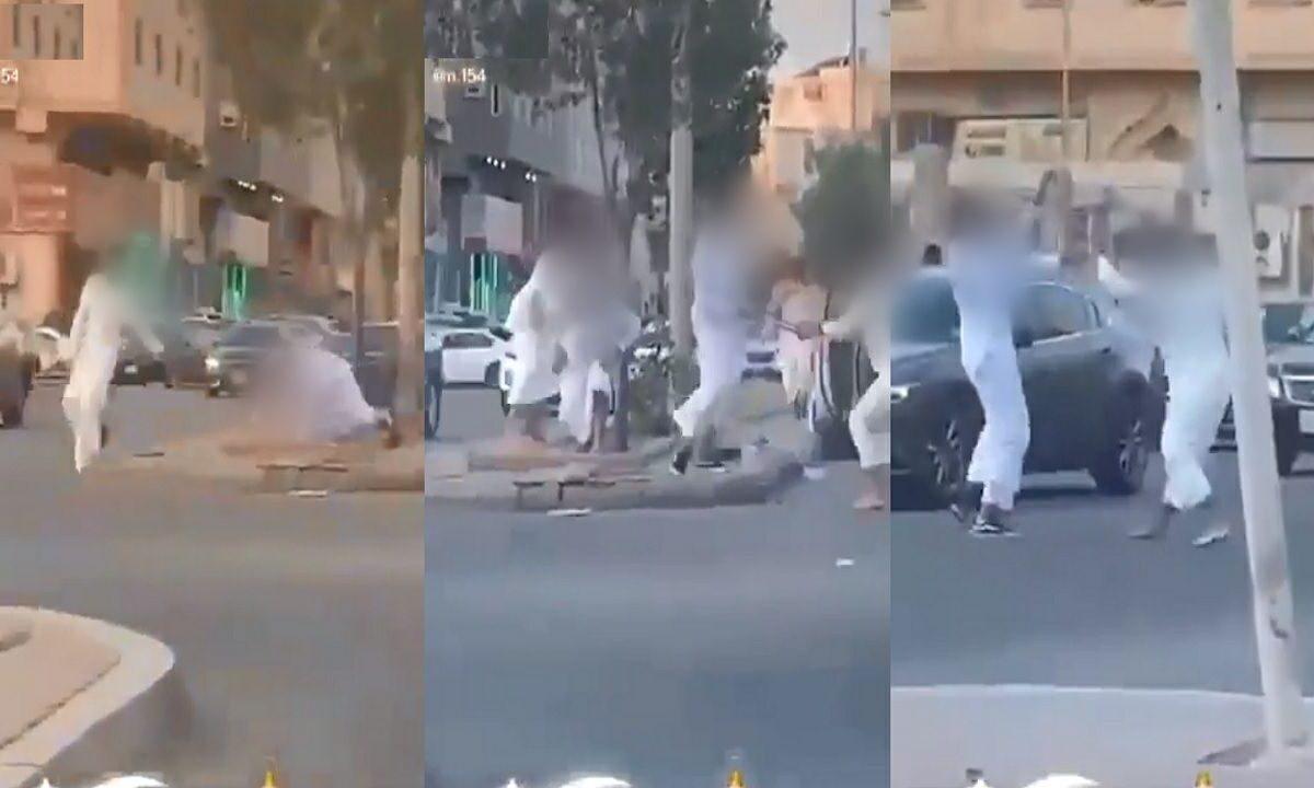 مشاجرة جماعية في جدة