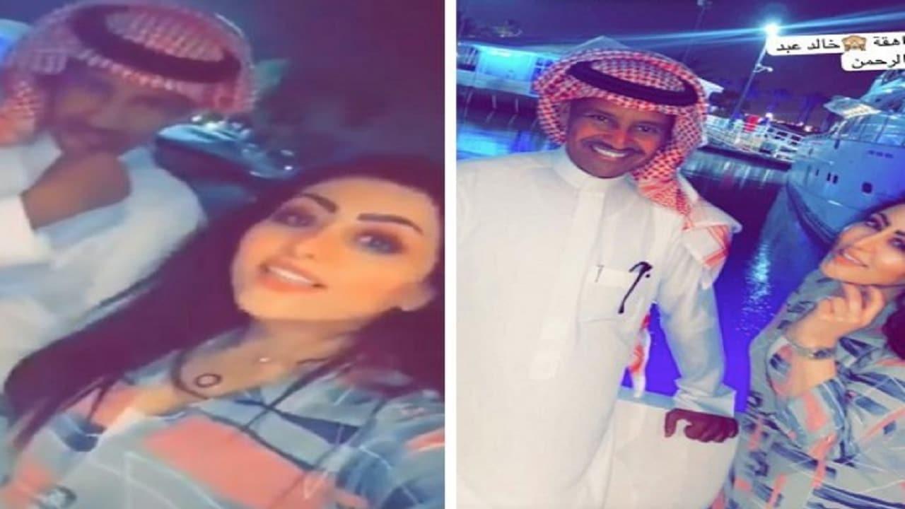 منال العيسى تتحرش بالفنان السعودي خالد عبدالرحمن وما طلبته منه صدم الجمهور!
