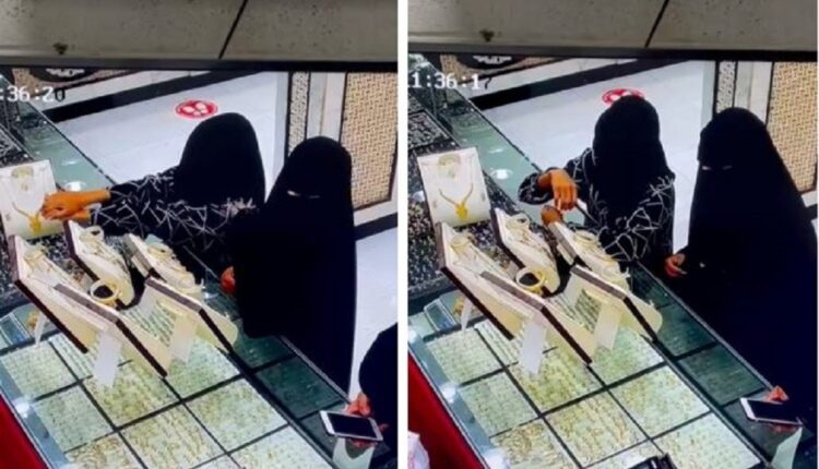 منتقبتان في السعودية