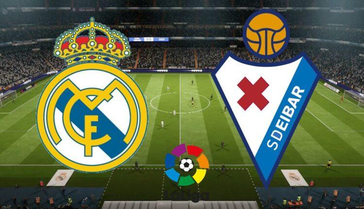 ريال مدريد وإيبار في الدوري الإسباني