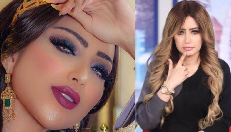 مي العيدان نشرت صورة للفنانة المغربية دنيا بطمة قبل عمليات التجميل اثارت سخرية الجمهور