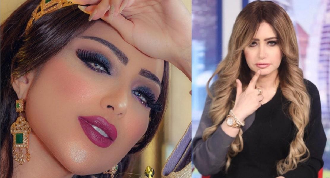 مي العيدان تصدم الجمهور بصورة للفنانة المغربية دنيا بطمة قبل عمليات التجميل .. لن تصدقوا كيف كانت!